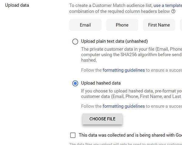 Google Shopping feed marketing tips voor black friday 2018 Google customer match upload lijst