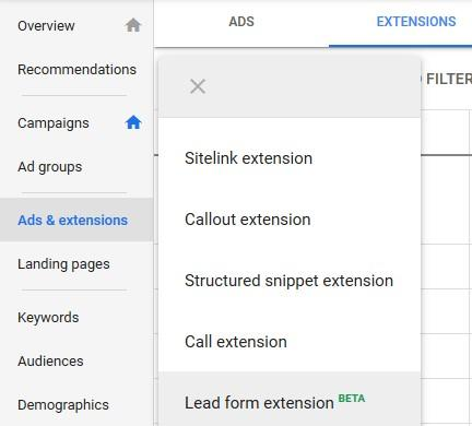 google-lead-form-extensions-setup